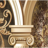 Euro painting panels wall mural
