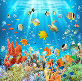 3d tropical fish wallpaper