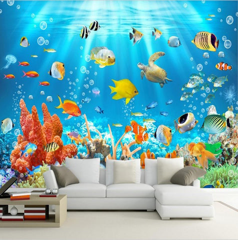 underwater fish wallpaper