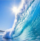 huge wave wallpaper