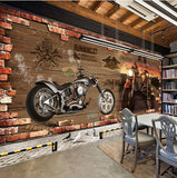 wallpaper retro motorcycle