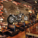 retro motorcycle wallpaper