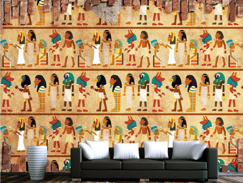 Egyptian drawing wallpaper