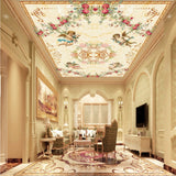 angels ceiling wall mural