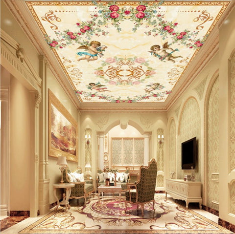 High Quality Ceiling Wallpaper Murals For Home Or Business