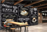coffee design wall mural