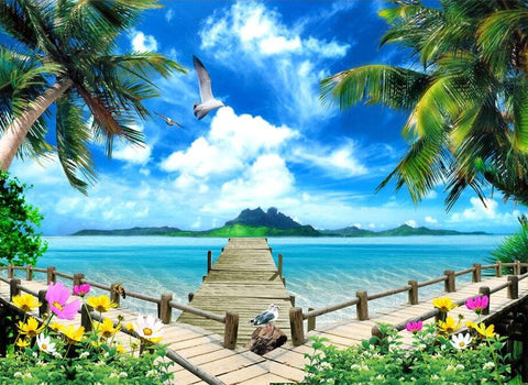 island seaview wallpaper