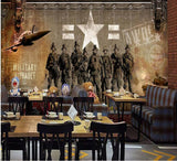military soldiers wall paper