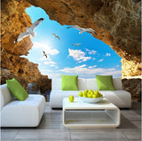 wall mural cave