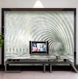 marble expansion space wall mural