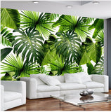 banana leaves wallpaper