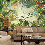 rainforest wall mural