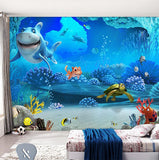 cartoon underwater wallpaper