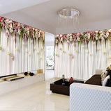 wall mural floral design