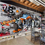 graffiti wall mural