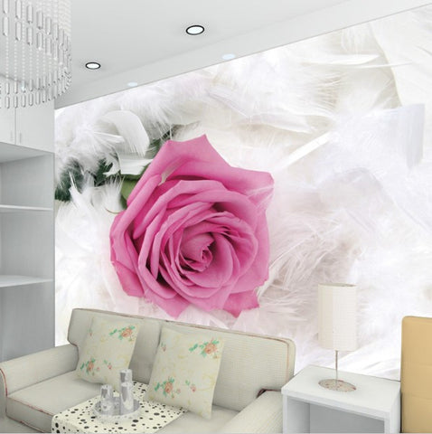 3d pink rose wallpaper