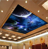 ceiling wallpaper planets
