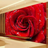 3d red rose wallpaper