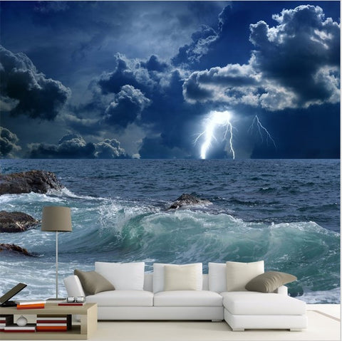 stormy sea wallpaper