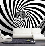 zebra stripe illusion wallpaper