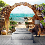wallpaper stone arches