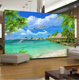 coconut trees wall mural