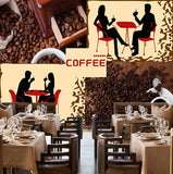coffee beans cafe shop wallpaper