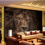 lion wall paper