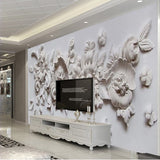 mural 3d relief wall mural