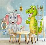 cartoon animals wallpaper