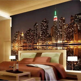 New York night lights wallpaper