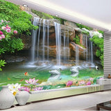waterfall pool wallpaper