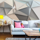 wall mural geometric abstract pattern