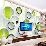 modern wallpaper circles