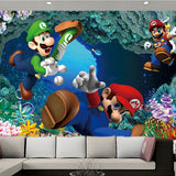 wallpaper super mario video game
