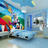 mickey mouse friends wall mural