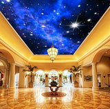stars ceiling wallpaper