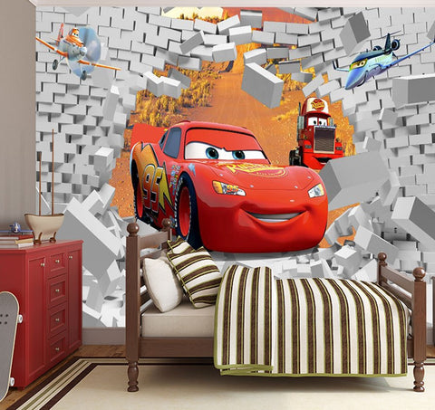3d cars cartoon wallpaper