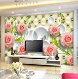 wallpaper leather background roses