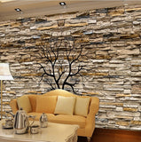 wallpaper 3d stone wall