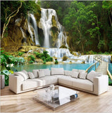 waterfall mural wallpaper