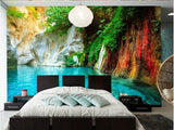 color foliage wall mural