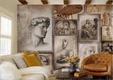 ancient images wall mural