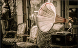 gramophone wallpaper