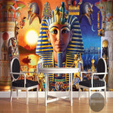 egypt drawings wall mural
