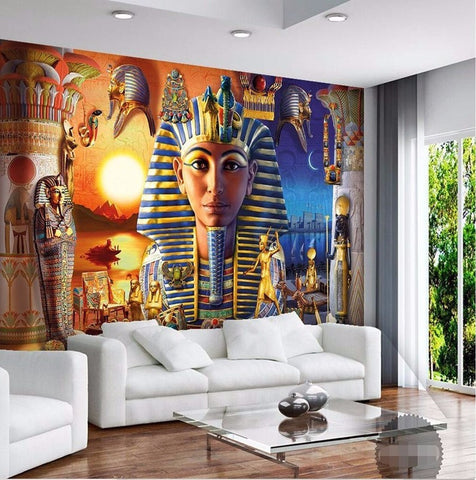 egyptian pharoah wallpaper