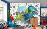 monsters inc. cartoon mural