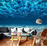 3d underwater ocean floor wallpaper