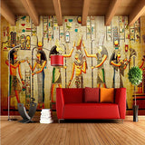 egyptian artwork wallpaper for walls