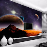 3d universe wallpaper for walls